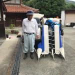 コンバイン買取-20170904-山口-イセキ-HN217